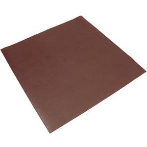 トランポリン用 フロアマット 110cm×110cm ブラウン ESMT-110 振動軽減 ずれ防止 PVC床保護マット ぶら下がり健康器具 ステップ台用