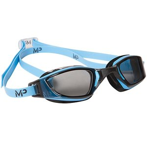 アクアスフィア エクシード(XCEED) マイケルフェルプス ダークレンズ ブルー/ブラック 139020 ゴーグル 競泳 水泳 FINA承認 マイケル・フェルプス(MP) esports