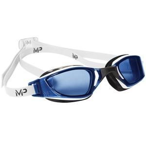 アクアスフィア エクシード(XCEED) マイケルフェルプス ブルーレンズ ホワイト/ブラック 139050 ゴーグル 競泳 水泳 FINA承認 マイケル・フェルプス(MP) esports