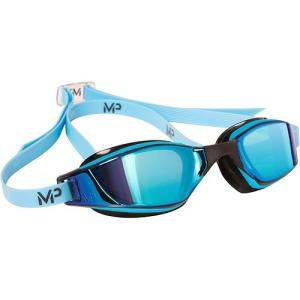 アクアスフィア エクシード(XCEED) マイケルフェルプス チタニウムミラー ブルーレンズ ブルー/ブラック 139080 ゴーグル 競泳 水泳 FINA承認 esports