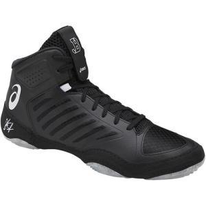 アシックス(asics) メンズ レディース レスリングシューズ JB エリート JB ELITE III ブラック×ホワイト J702N 9001 レスリング シューズ 靴