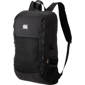 カンタベリー(canterbury) ラグビー デイパック DAY PACK ブラック AB09216 19 スポーツバッグ バックパック リュック バッグ 鞄