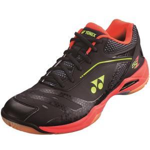ヨネックス(YONEX) メンズ レディース バドミントンシューズ パワークッション POWER CUSHION 65 Z ブラック/ブライトレッド SHB65Z 412 バトミントン 靴 部活