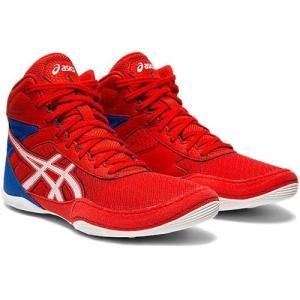 アシックス(asics) キッズ レスリングシューズ マットフレックス6 ジーエス MATFLEX 6 GS クラシックレッド/ホワイト 1084A007 600 インドア 室内 靴 ジュニア