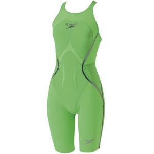 スピード(speedo) ファンスキン レーザー レーサー X オープンバックニースキン SD45H51 FG 女性用競泳水着 レディース 競技用|esports