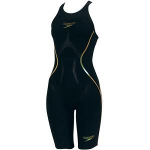 スピード(speedo) ファンスキン レーザー レーサー X オープンバックニースキン SD45H51 KD 女性用競泳水着 レディース 競技用|esports