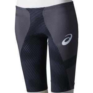 アシックス(asics) トップインパクトライン メンズ スパッツ ライオストリーム2 ブラック ASM506 90 男性用競泳水着 メンズ 競技用|esports