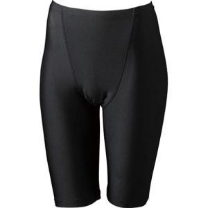 エレッセ(ellesse) スイムレイヤー4.5分丈スパッツ ES95004 K ブラック レディースフィットネス水着 女性用 esports