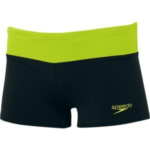 スピード(speedo) メンズ ボックス SD85X30 KG ブラック/クリアグリーン メンズ フィットネス水着 男性用|esports
