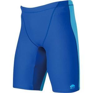 エレッセ(ellesse) メンズボックス4分丈 EN87220 RB/ロイヤルブルー メンズフィットネス水着 男性用|esports