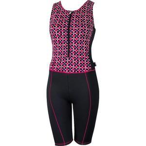 エレッセ(ellesse) AQUA-FLEECE プリント保温オールインワン ピンク ES47280 PN レディースフィットネス水着 女性用 esports