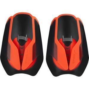 スピード(speedo) ファストスキン パドル ブラック×レッド フリーサイズ SD97A20 KR 水泳練習用具 トレーニング用品 水かき|esports