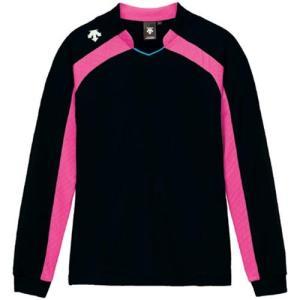 デサント(DESCENTE) ゲームシャツ DSS-4116W BPK 女性用 バレーボール ウェア 長袖 ユニフォーム|esports