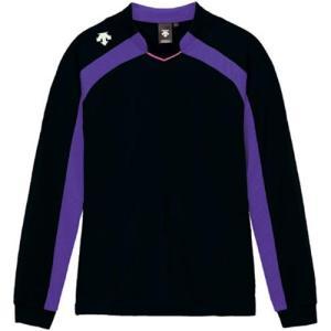 デサント(DESCENTE) ゲームシャツ DSS-4116W BPPL 女性用 バレーボール ウェア 長袖 ユニフォーム|esports