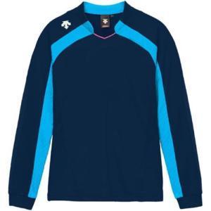 デサント(DESCENTE) ゲームシャツ DSS-4116W NVY 女性用 バレーボール ウェア 長袖 ユニフォーム|esports