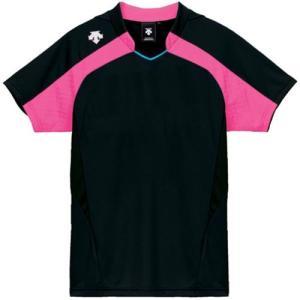 デサント(DESCENTE) レディースゲ−ムシャツ DSS-4126W BPK 女性用 バレーボール ウェア 半袖 ユニフォーム esports