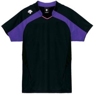 デサント(DESCENTE) レディースゲ−ムシャツ DSS-4126W BPPL 女性用 バレーボール ウェア 半袖 ユニフォーム|esports