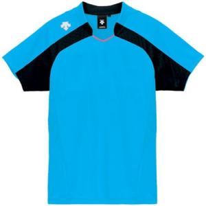 デサント(DESCENTE) レディースゲ−ムシャツ DSS-4126W PBL 女性用 バレーボール ウェア 半袖 ユニフォーム esports