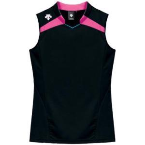 デサント(DESCENTE) レディースゲ−ムシャツ DSS-4136W BPK 女性用 バレーボール ウェア 半袖 ユニフォーム esports
