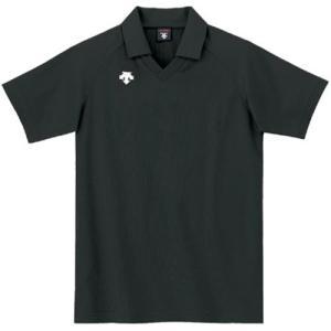 デサント(DESCENTE) 半袖ゲ−ムシャツ DSS-4320 BLK バレーボール ウェア 半袖 ユニフォーム|esports