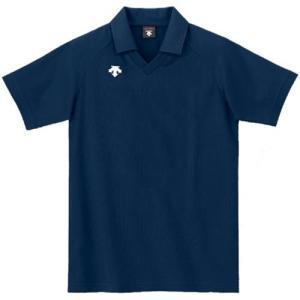 デサント(DESCENTE) 半袖ゲ−ムシャツ DSS-4320 NVY バレーボール ウェア 半袖 ユニフォーム esports