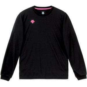 デサント(DESCENTE) レディースプラクティスシャツ DVB-5216W BPK バレーボール ウェア 長袖 女性用|esports