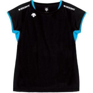 デサント(DESCENTE) レディースセカンダリーシャツ DVB-5223W BBL バレーボール ウェア ノースリーブ 女性用|esports