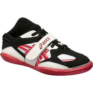 アシックス(asics) 綱引きシューズ ホワイト/Wレッド・ゴールド 0123 TOR109 ツナヒキ 競技 運動会 靴 メンズ レディース