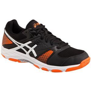 アシックス(asics ) メンズ レディース ハンドボール シューズ ゲルドメイン GEL-DOMAIN 4 001 ブラック/ホワイト THH544 ハンドシューズ 室内 体育館 靴