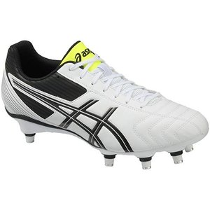 アシックス(asics) LETHAL TACKLE TRW770 ホワイト/ブラック ラグビー シューズ スパイク トレーニング メンズ|esports