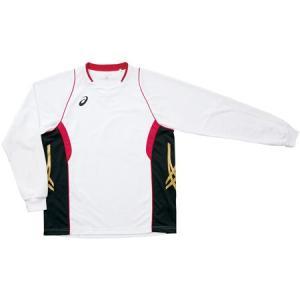 アシックス(asics) ゲームシャツLS XW1315 0124 バレーボール ウェア ユニフォーム 長袖|esports