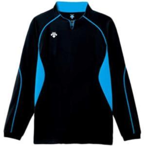 デサント(DESCENT) 長袖ゲームシャツ DSS-4410 BBL バレーボール ウェア ユニフォーム 男女兼用|esports