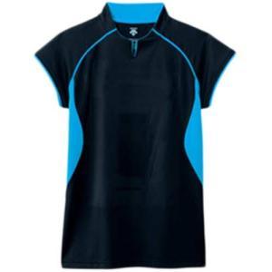 デサント(DESCENT) F/S ゲームシャツ DSS-4430 BBL バレーボール ウェア ユニフォーム 男女兼用|esports