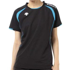 デサント(DESCENTE) 半袖ゲームシャツ DSS-5421W BBL レディース ママさん バレーボール ウェア ユニフォーム|esports