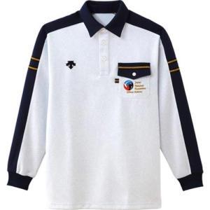 デサント(DESCENT) 長袖レフリーシャツ DVB-940 MGY バレーボール ウェア 審判着 男女兼用|esports