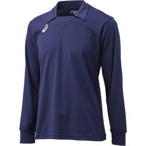 アシックス(asics) ゲームシャツLS XW1324 ネイビー バレーボール トレーニングウェア 長袖|esports