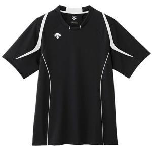 デサント(DESCENTE) H/S ライト ゲームシャツ DSS-5520 BWH バレーボール トレーニングウェア メンズ 半袖 ウエア|esports