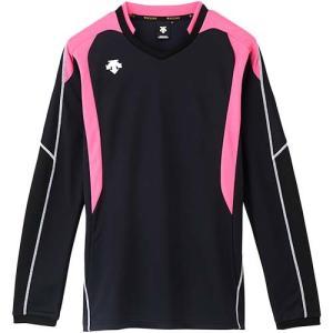 デサント(DESCENTE) 長袖ゲームシャツ DSS-4610 BPK バレーボール トレーニングウェア ロンT プラシャツ esports