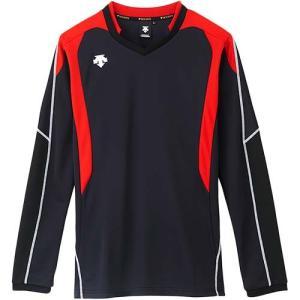 デサント(DESCENTE) 長袖ゲームシャツ DSS-4610 BRD バレーボール トレーニングウェア ロンT プラシャツ|esports