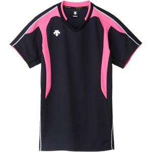 デサント(DESCENTE) 半袖ゲームシャツ DSS-4620 BPK バレーボール トレーニングウェア プラシャツ|esports