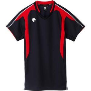 デサント(DESCENTE) 半袖ゲームシャツ DSS-4620 BRD バレーボール トレーニングウェア プラシャツ|esports