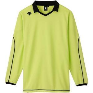 デサント(DESCENTE) 長袖ライトゲームシャツ DSS-5610 LYEL バレーボール トレーニングウェア プラシャツ|esports