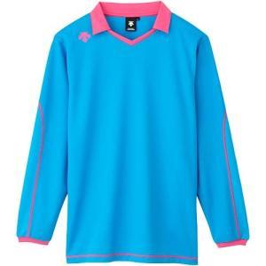 デサント(DESCENTE) 長袖ライトゲームシャツ DSS-5610 PBL バレーボール トレーニングウェア プラシャツ|esports