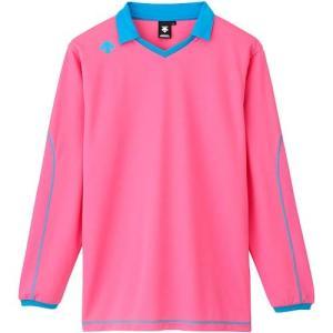 デサント(DESCENTE) 長袖ライトゲームシャツ DSS-5610 PPK バレーボール トレーニングウェア プラシャツ|esports