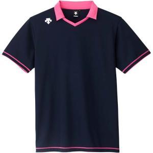 デサント(DESCENTE) 半袖ライトゲームシャツ DSS-5620 NVY バレーボール トレーニングウェア プラシャツ esports
