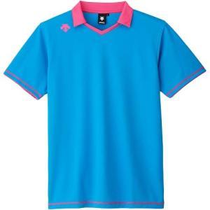 デサント(DESCENTE) 半袖ライトゲームシャツ DSS-5620 PBL バレーボール トレーニングウェア プラシャツ|esports
