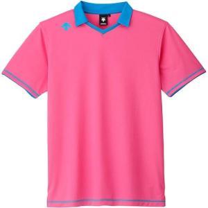 デサント(DESCENTE) 半袖ライトゲームシャツ DSS-5620 PPK バレーボール トレーニングウェア プラシャツ esports