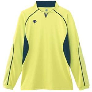 デサント(DESCENT) 長袖ゲームシャツ DSS-4410 LYEL バレーボール ウェア ユニフォーム 男女兼用|esports