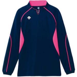 デサント(DESCENT) 長袖ゲームシャツ DSS-4410 NVY バレーボール ウェア ユニフォーム 男女兼用|esports