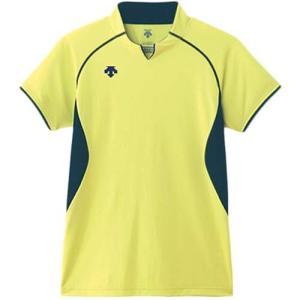 デサント(DESCENT) 半袖ゲームシャツ DSS-4420 LYEL バレーボール ウェア ユニフォーム 男女兼用|esports